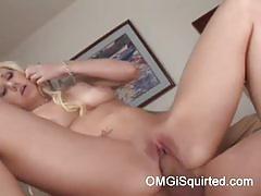 Samantha sinn gets banged til she squirts a lot