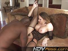 Babe chanel preston bounces on this huge dick