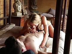 Blonde hottie natasha starr 69s her massage client