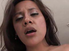 Sensual brunette selma sins gets banged very hard