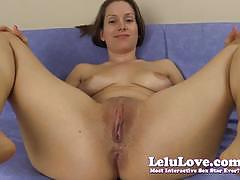Randy lelu love exposes her moist slot