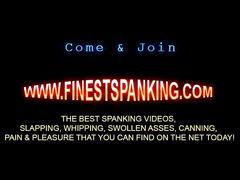 Hardcore stick spanking