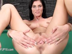 Gyno toy and hard hole opening  film