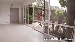 Angelina valentine and aleska pussy eating
