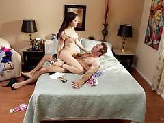 Valentina nappi fucks him till he cums