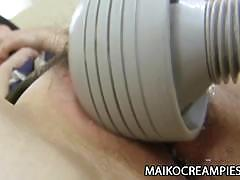 asian, blowjob, milf, creampie, masturbation, wife, housewife, shower, mom, cowgirl, on top, close up, gagging, japanese, japan, sex toy, face fuck, cock sucking, pussy play, spooning