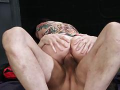 Dick goes deep in joanna angels ass