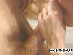 Mature babe fucked from behind