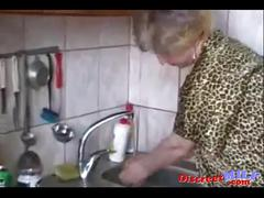 Fat milf from russia sucking a young hairy cock with joy