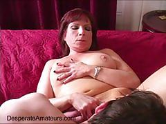 Casting angie desperate amateurs interview milf cougar need money first ful