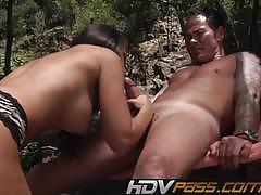 amy fisher, blowjob, hardcore, big tits, cumshot, suck, cum, outdoor, sucking, cum shot