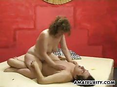 Randy housewife fucked from behind