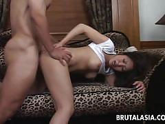 Luscious asian loves to fuck