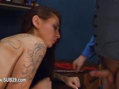 To much of rope and cute bdsm submissive sex