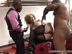 Nina hartley fucking black cocks