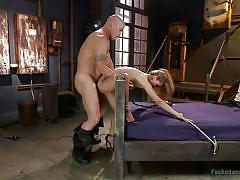 Luna gets buzzed and prodded in the dungeon