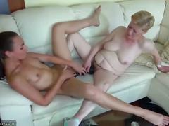 Skinny lesbian wrinkled grannies fucking with amazing sweet girls