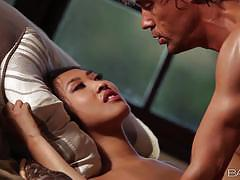 Asian sharon lee takes each inch of her mans dick