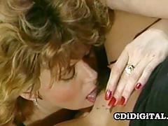 Mature babes enjoy lesbian fun