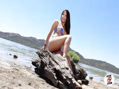 Sex on the beach - el dominguero folla en la arena - outdoor scene