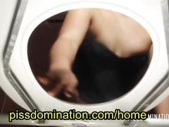 asian, pov, humiliation, domination, slave, pee, toilet, panty, piss, femdom
