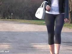 Jeny smith see through yoga pants camel toe