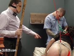 Extreme bdsm toilet bitch fucked anally hard  feature