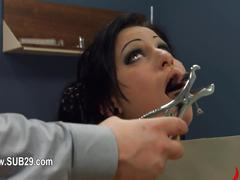 Bdsm sex in analland with slut fucked brutally