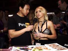 Pornhubtv alix lynx interview at 2015 avn awards