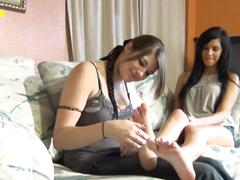 Latina teen layla lopez feet worship