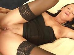 anal, cumshot, blowjob, brunette, german