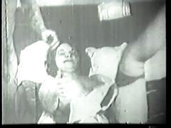 Guy rams tight slutty brunette in bed
