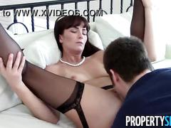 Propertysex - sexy milf realtor makes dirty homemade sex video with client