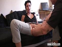 Amateur wife fisted