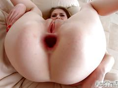 Asstraffic milena devi leggy brunette gets a dick in the ass