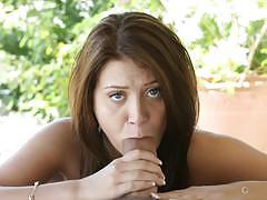 Pussy pounding cum guzzler jojo kiss