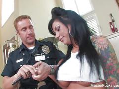 Bad girl mason moore gets fucked by a cop