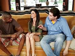India summers enjoys black dick as her bf watches