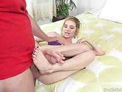 Sexy angel smalls gets her pussy nailed