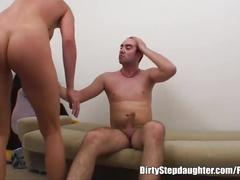 My stepdad comes into my room and fucks me anal