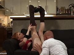 Tarra white slams her pussy down on his big dick