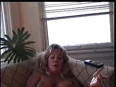 Andra june materbates to lesbian porn