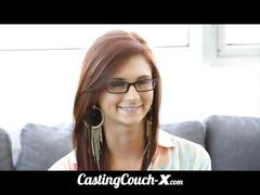 Castingcouch-x dumb 18yo midwest whore porno