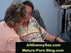Mature granny fucked anal hard
