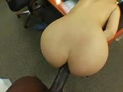 Lexington fucks katsumi in an office