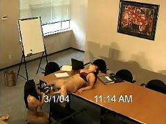 Asian lesbian secretary
