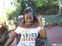 Ebony lesbian babes
