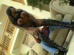 Sexy black girl fucked