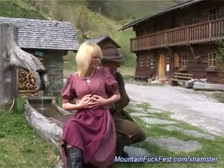 Anal milf in the mountains
