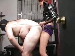 Femdom strapon mistress